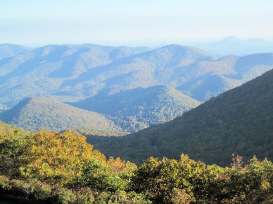 View from the top of Brasstown Bald