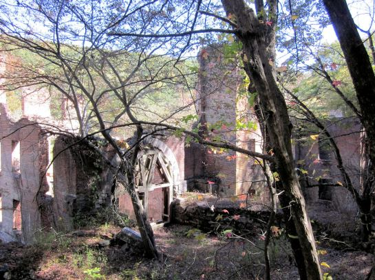New Manchester Factory ruins at Sweetwater Creek State Park